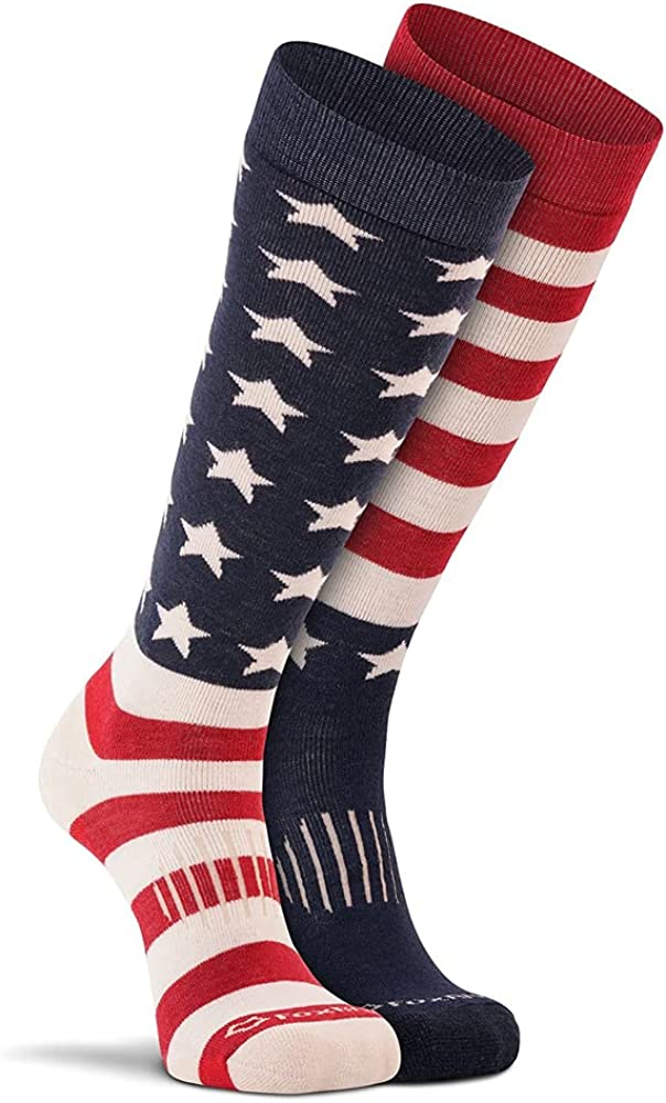 FoxRiver Adult Military Dress Crew Light Weight Socks, Extra-Cushioned Mid Calf Socks for Super Dry, Odor Free Comfy Feet