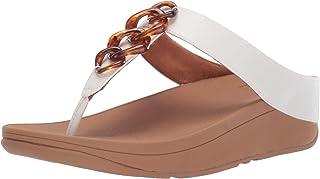 FitFlop Women's Fino Tortoiseshell Chain Sandal