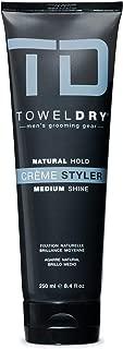 Towel Dry Natural Hold Creme Styler Medium Shine, 8.4 Fluid Ounce