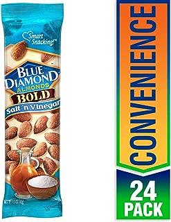 Blue Diamond Almonds, Bold Salt & Vinegar, 1.5 Ounce (Pack of 24)
