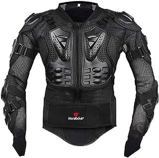 FULUOYIN Motorrad Protektorenjacke Anzug Panzer Protektorenhemd mit Hose+ kniechüzer+ Handschuhe für Radfahren Reiten Motorrad Fahren Schilaufeh S 5XL