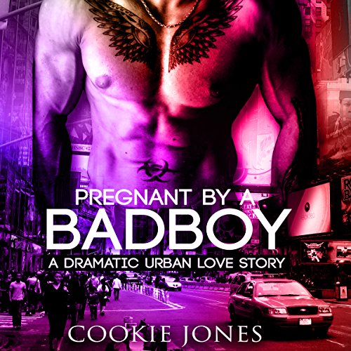 Pregnant by a Bad Boy audiobook cover art