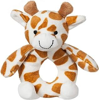 Apricot Lamb Baby Giraffe Soft Rattle Toy, Plush Stuffed Animal for Newborn Soft Hand Grip Shaker Over 0 Months ( Giraffe,...
