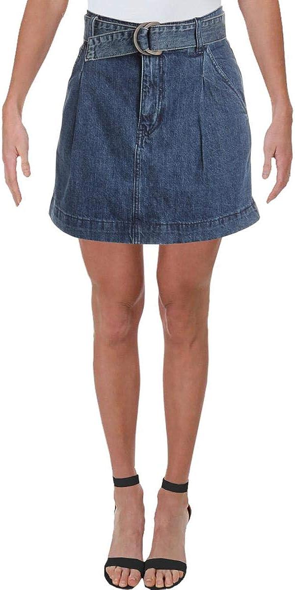 Free People Women's Jade Belted Skirt