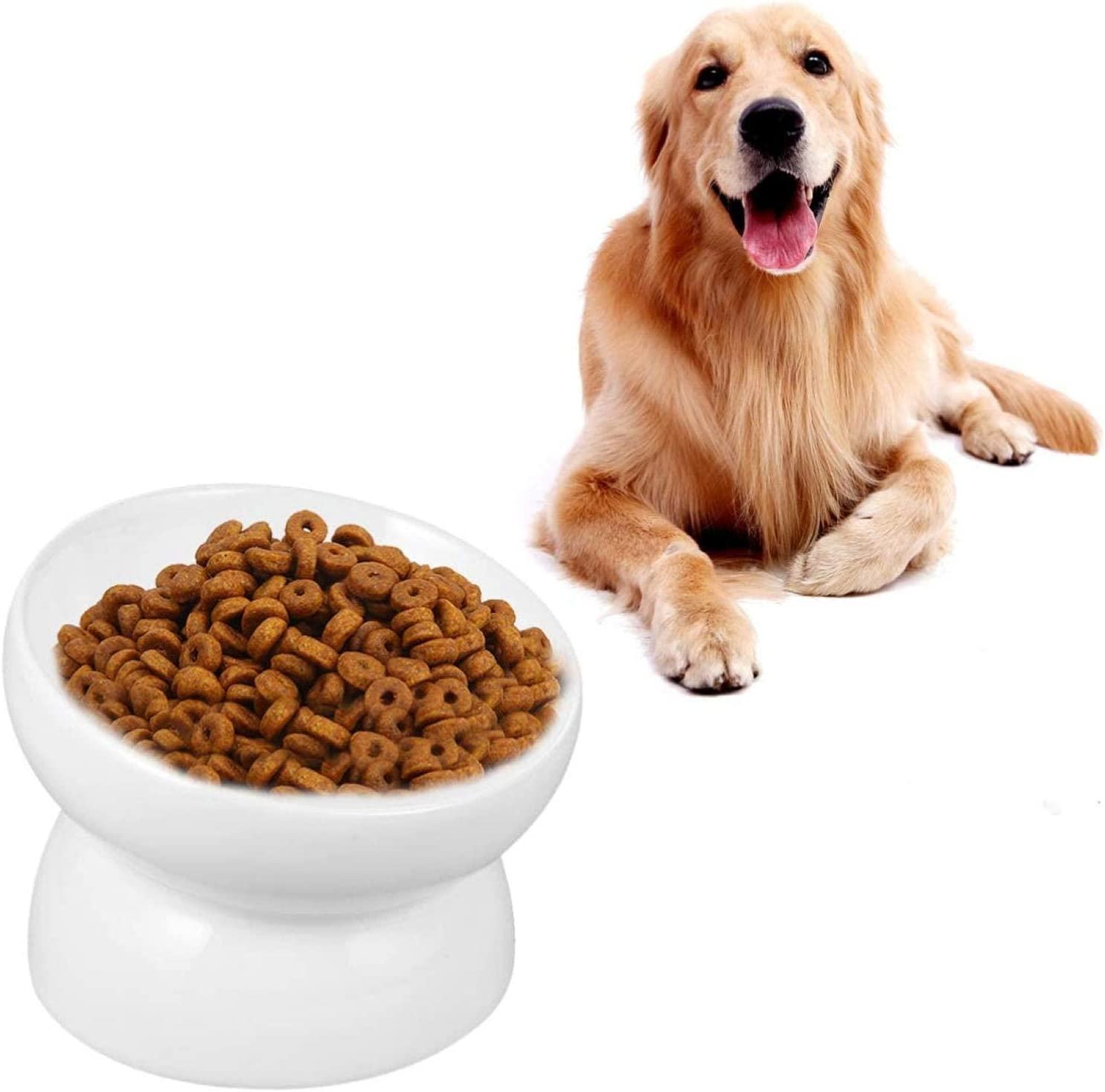 Manufacturer Max 56% OFF regenerated product XHJTD Elevated Dog Bowls Raised Cat Bow Food Bowl