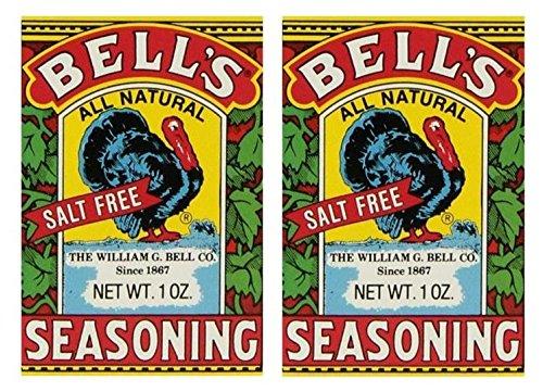 Bells All Natural Seasoning - 1 oz (Pack of 2)