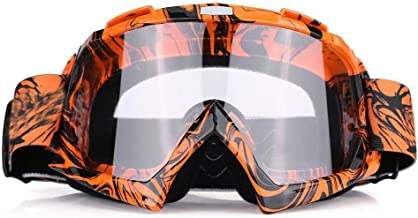 Sunooee Motorcycle Goggles, Motocross Off Road Dirt Bike Racing Goggles Glasses Eyes Protection(#2)