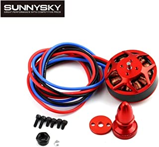 Accessories 4pcs/lot Original Sunnysky V3508 380KV 580KV 700KV 4S 6S Brushless Motor for Multicopter Quadcopter RC Airplane - (Color: 380KV)