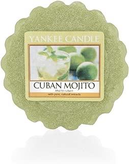 Yankee Candle Tarts Wax Tea Lights Candles–Cuban Mojito, 8.4x 6.1x 1cm