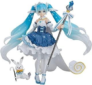 YOUZHILAN Hatsune Snow Miku Princess Magic Whistle Rabbit Vocaloid Virtual Idol Figma