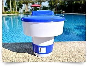 shiftX4 El dispensador flotante de cloro ofrece un fuerte dispensador de cloro para piscinas interiores y exteriores, soporte de tableta de cloro