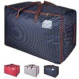 Eono Amazon Brand 100L Bolsa de Almacenamiento Grande, Bolsa de Tela para Ropa,...