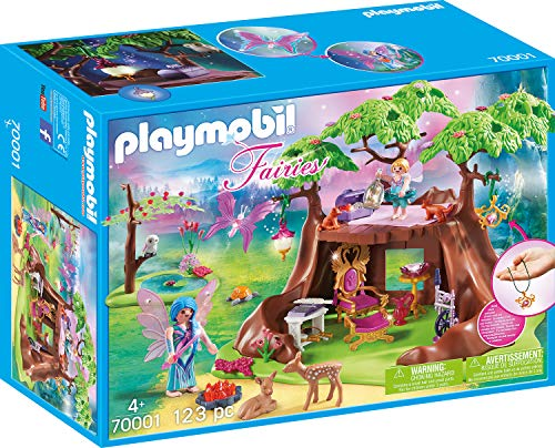 Playmobil 70001 Fairies Waldfeenhaus, bunt