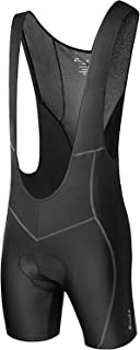 Przewalski Mens 3D Padded Cycling Bike Bib Shorts, Excellent Performance and Better Fit