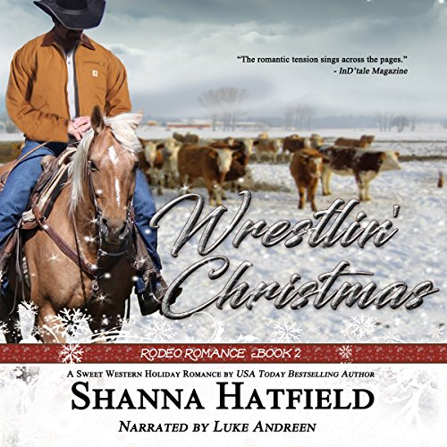 Wrestlin' Christmas audiobook cover art