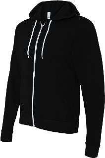 Canvas unisex Poly-Cotton Fleece Full-Zip Hoodie - 3739