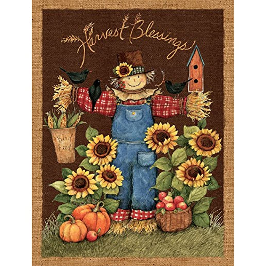 Springs Creative 100-Percent Cotton Harvest Blessings Wall Hanging, 43/44-Inch by 15-Yard