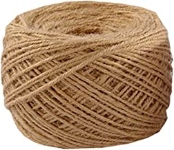 Natural Jute Rope 200 Meters(656 ft) 3mm Hemp Rope for Arts Crafts Gift Wrapping