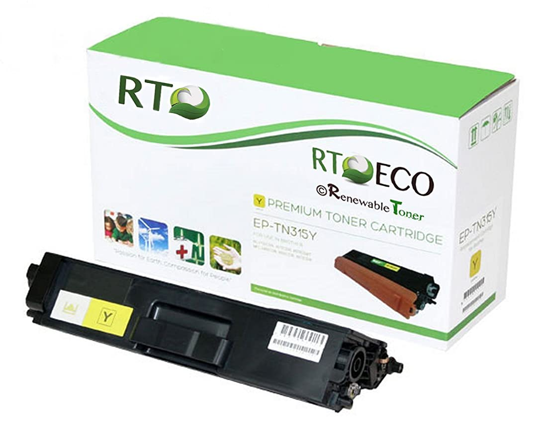 Renewable Toner Compatible Toner Cartridge Replacement Brother TN-315Y TN315Y for HL-4150 4570 MFC-9460 9560 9970 (Yellow)