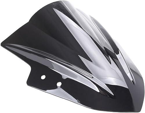 wholesale Mallofusa Motorcycle new arrival Windscreen Front Windshield 2021 Compatible for Kawasaki Ninja EX300R 2013 2014 2015 Black online