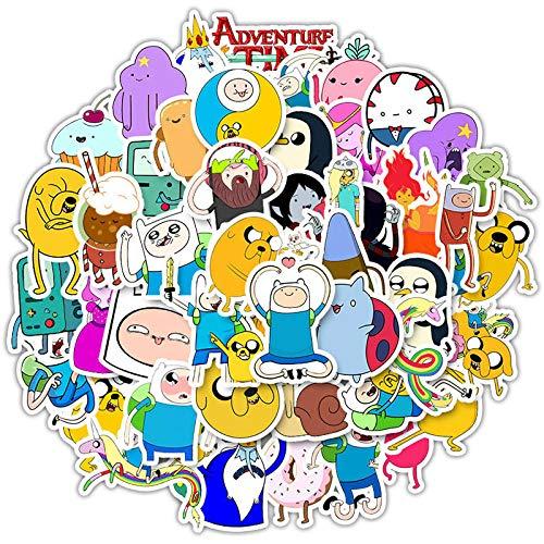 votgl 50 Pegatinas de Anime de Dibujos Animados Adventure
