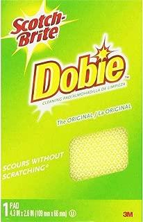 3M Scotch-Brite Dobie, 1 Pad each (Value Pack of 6)