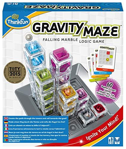 Ravensburger Italy- Gravity Maze Gioco di Logica, 763399