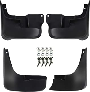 A-Premium Splash Guard Mud Flaps Fenders for Toyota Sienna 2004-2010 without Running Boards 4-PC Set