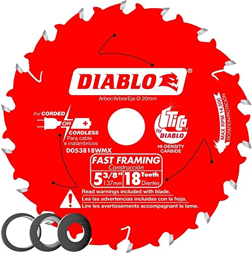 popular Freud-Diablo high quality DB 5-3/8 X 18T Wood CSB MB, Multicolor, discount D053818WMX, One Size outlet online sale