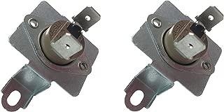 2 x SAMSUNG DC96-00887A Replacement Dryer Thermostat W/ Bracket 2074129