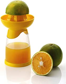 Royalford 2 in 1 Lemon Squeezer with Lime Spritzer Spray Manual Citrus Juicer Squeezer Lime Press with Strainer Juice Extr...