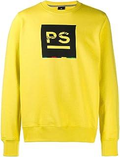 PS BY PAUL SMITH Luxury Fashion Mens M2R027RAP134412 Yellow Sweatshirt | Fall Winter 19
