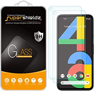 (2 Pack) Supershieldz Designed for Google Pixel 4a [Not Fit for Pixel 4a 5G] Tempered Glass Screen Protector, 0.32mm, Anti...