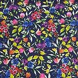 Schickliesel Softshell Stoff Meterware Blumen