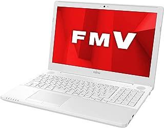 【公式】 富士通 ノートパソコン FMV LIFEBOOK AHシリーズ WA1/D1 (Windows 10 Home/15.6型ワイド液晶/Core i7/8GBメモリ/約256GB SSD/Blu-ray Discドライブ/Office Home and Business 2019/プレミアムホワイト)AZ_WA1D1_Z013/富士通WEB MART専用モデル