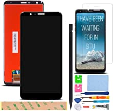 XR MARKET Compatible LG Stylo 4 Screen Replacement, LCD Display Touch Screen Digitizer Assembly Part for LG Q710 Q710AL Q710MS 6.2'',with Tools, Screen Protector(Black NO Frame)