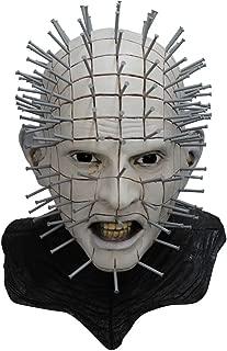 Men's Monster Horror Hellraiser III Pinhead Mask Halloween Costume Accessory