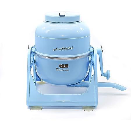 The Laundry Alternative, WonderWash, Portable Washing Machine, Mini Washer, Compact and Non- Electric, Light Blue