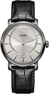 Rado Diamaster Silver-Toned Analog Watch for Men R14135106