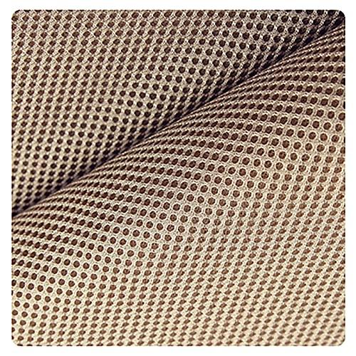 Gali, tessuto a maglia 3D realizzato a mano, tessuto a tre livelli, tessuto a maglia elastica, tessuto a maglia spessa, materiale traspirante e cava, abbigliamento (colore: #107)