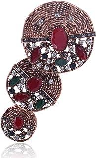 胸针,领针,丝巾扣,ヴィンテージの大きな服の飾りブローチアクセサリー
