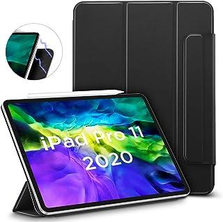 ESR Rebound Magnetic Smart Case for iPad Pro 11 2020 & 2018,Convenient Magnetic Attachment,Auto Sleep/Wake Trifold Stand Case,Black