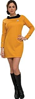 star trek yellow dress