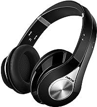 Mpow 059 Auriculares Diadema Bluetooth Inalambricos, Cascos Bluetooth Inalambricos Plegable con Micrófono, 20hrs Reproducción de Música, Hi-Fi Sonido Estéreo para TV, PC, Móviles, Negro