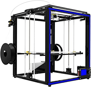 Lei Zhang 3D Printer 2 In 1 Out Extrusion Filament Sensor Resume Print Heatbed Cube Full Metal Square 3.5 Inch Touch Scree...