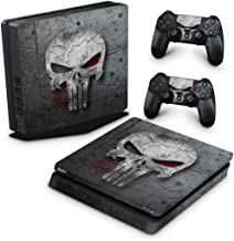 Skin Adesivo para PS4 Slim - The Punisher Justiceiro #B
