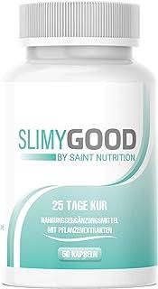 Slimygood by Saint Nutrition® kapsułki – kuracja 25 dni dla mężczyzn i kobiet – kapsułka wegańska i bardzo wysoka dawka – ...