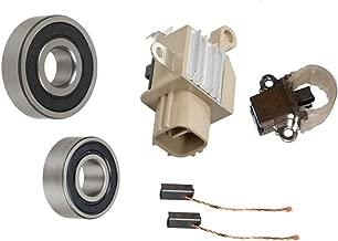 Alternator Rebuild Kit for 2006-08 CSX, 2004-08 TSX, 2003-07 Accord, 2006-10 Civic, 2007-2009 CR-V, 2003-09 Element / 4 Cyl Brushes, Regulator, Bearings - 13980RK