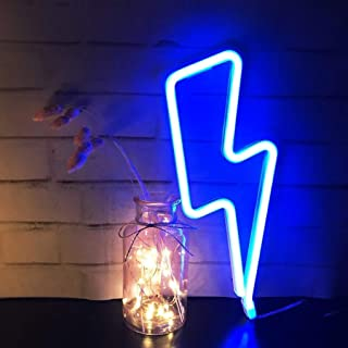 LCF Neon Signs Led Romantic Art Decorative Neon Lights Wall Decor for Christmas Gift Studio Party Kids Room Living Room We...
