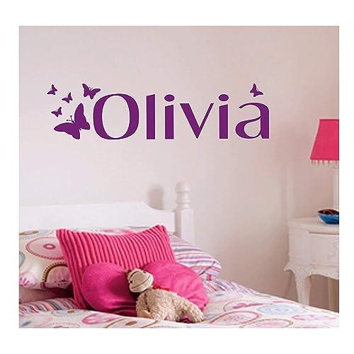 Name Wall Stickers Amazon Co Uk
